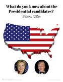 2016 Presidential Election Bubble Map