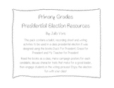 Presidential Election Class Activity Pack