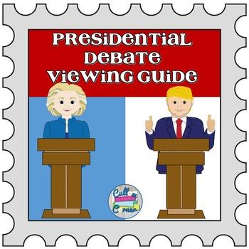 Presidential Election Debate Viewing Guide