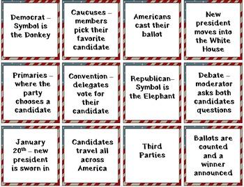 "Presidential Election Grades 2-5 mini unit; ""If I Ran for President""; Printables"