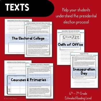 Presidential Election & Inauguration: Becoming the President Texts & Activities