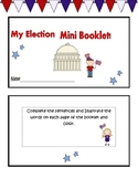 Presidential Election Mini Booklet