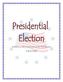 Presidential Election Packet
