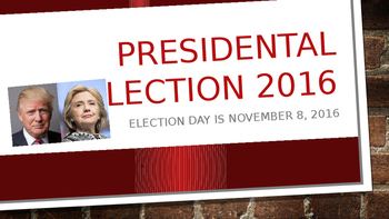 Presidential Election Powerpoint 2016