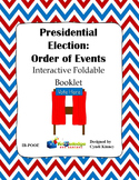 Presidential Election Process: Order of Events Interactive Foldable