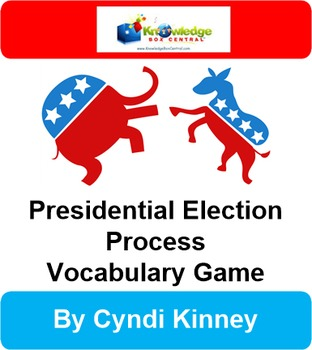 Presidential Election Process Vocabulary Game
