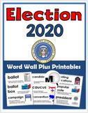 Presidential Election 2016 - Social Studies Word Wall & Pr