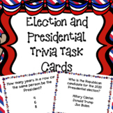 Election Day Task Card  - Trivia about the Presidents and