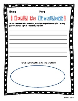 Presidential Election Worksheets and Activities