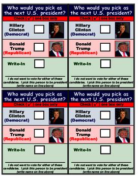 Presidential Election for Children!