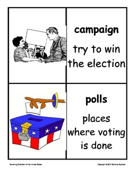 Presidential Election lessons!