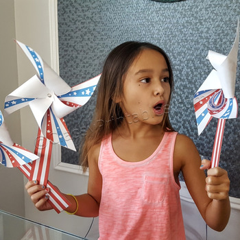 Presidential Election pinwheels craft activity FREE fact s