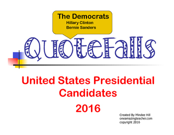 Presidential Elections 2016  The Democrats Quotefalls