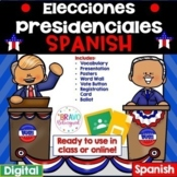 Presidential Elections 2020 (Spanish) - Online or in class