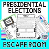 Presidential Elections ESCAPE ROOM:  Primary elections and general election