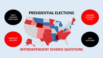 Presidential Elections: Interdependent Divided Questions Activity