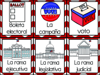 Presidential Elections Pack in Spanish