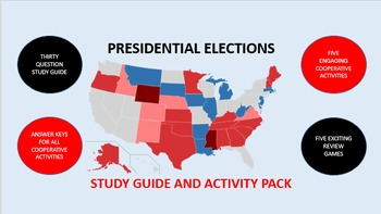 Presidential Elections: Study Guide and Activity Pack