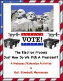 ELECTION Process! How do we Elect a President? A Webquest