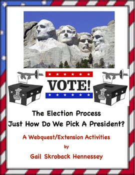 ELECTION Process! How do we Elect a President? A Webquest