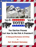 The ELECTION Process! How do we Elect a President? A Webquest