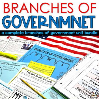 Branches of Government AND The Presidential Election Process Bundle