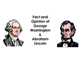 Presidential Fact and Opinion Activity Sorting and Comparing and Contrasting