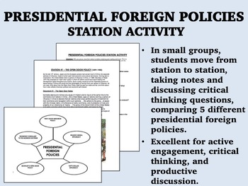 Presidential Foreign Policies Station Activity - USH/APUSH