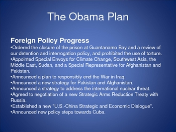 Presidential Foreign Policies on Imperialism Ppt Lecture & Activity