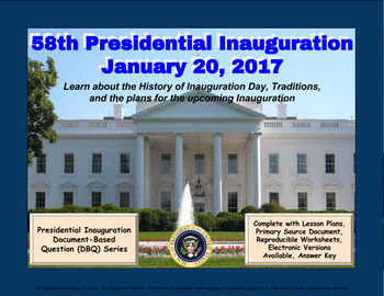 Presidential Inauguration 2017 - DBQ - PPTX - Ready for 1-to-1 Devices