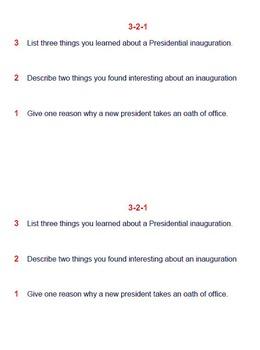 Presidential Inauguration Lesson Plan