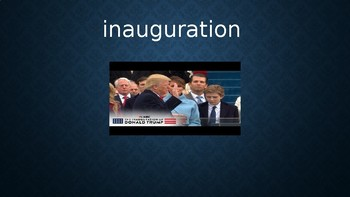 Presidential Inauguration Vocabulary