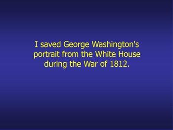 Presidential Jeopardy Promethean Flip Chart ~ Grades 11 / 12 Government