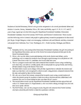 Presidential Line-Up Logic Level III