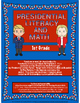 Presidential Literacy and Math No Prep Packet