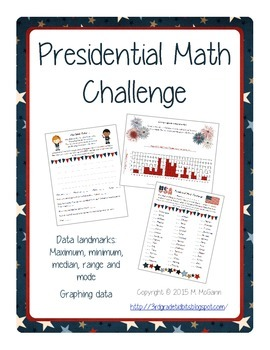 Presidential Math Challenge: Mean, Median and Mode