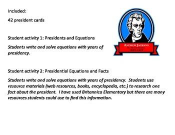 Presidential Math Mania