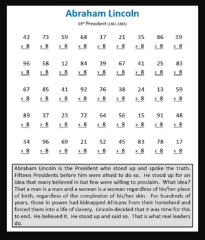 Presidential Multiplication