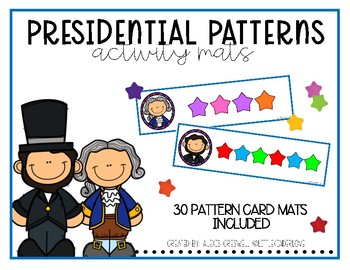 Presidential Pattern Cards