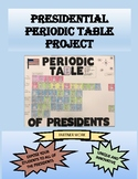 Presidential Periodic Table Project