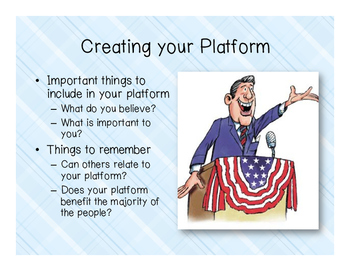 Presidential Platforms