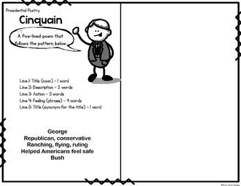 Presidential Poetry Booklet
