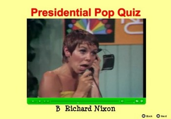 Presidential Pop Quiz - Bill Burton