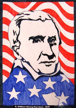 Presidential Portraits Art Project