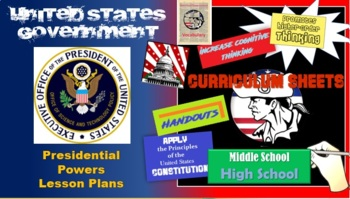 American Government Presidential Powers Lesson