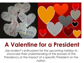 Presidential Powers Valentine's Day/ President's Day Assessment