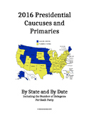Presidential Primaries and Caucuses - 2016