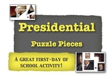 Presidential Puzzle Pieces:  A Great First-Day of School Activity!