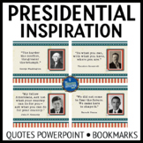 US Presidents PPT and Bookmarks