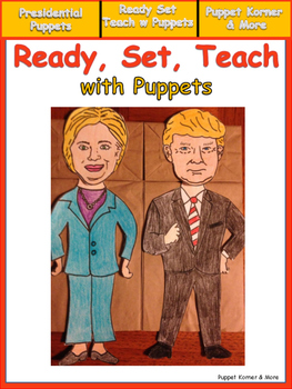 Presidential Election Puppets